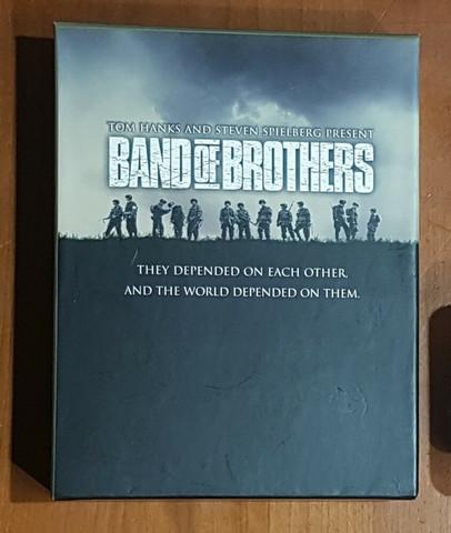 DVD-elokuva (Band Of Brothers - Taistelutoverit)