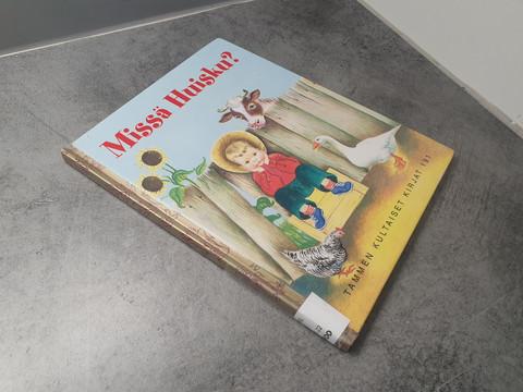 Lasten kierrätyskirja (Tammen Kultaiset Kirjat 191 - Missä Huisku?)