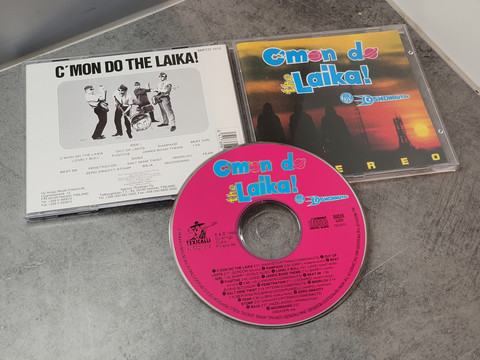 CD -levy (Laika and the Cosmonauts - C'mon Do The Laika!)