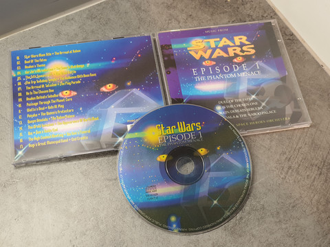 CD -levy (Star Wars - Episode 1)
