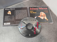 CD -levy (Johnny Winter - Livin' The Blues)