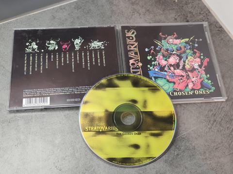 CD -levy (Stratovarius - The Chosen Ones)