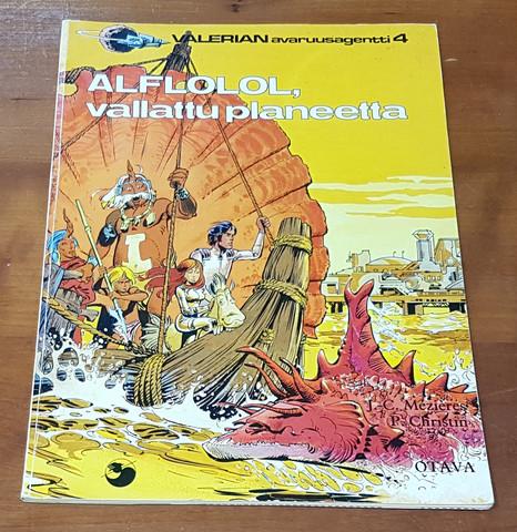 Sarjakuvakirja (ALFLOLOL, Vallattu planeetta - Valerian avaruusagentti 4)