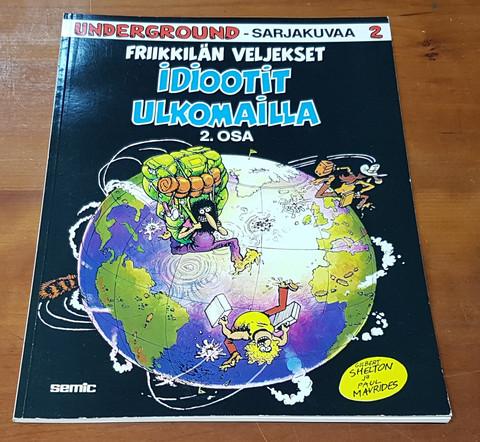Sarjakuvakirja (Friikkilän veljekset - Idiootit ulkomailla, osa 2)