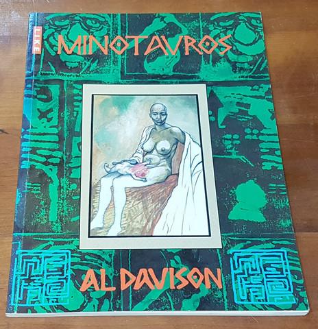 Sarjakuvakirja (Al Davison - Minotauros)