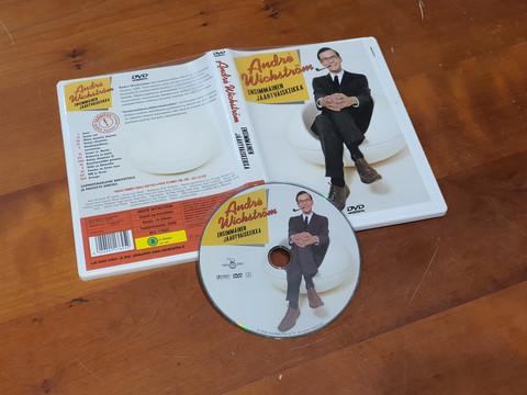 DVD -elokuva (André Wickström - Ensimmäinen Jäähyväiskeikka)