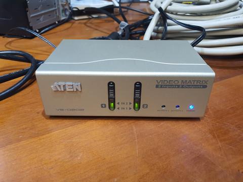 VGA / audio -kytkin (Aten VS-0202)
