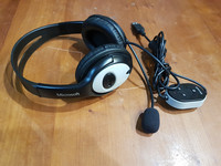 USB-kuulokemikrofoni (Microsoft LiveChat LX-3000)