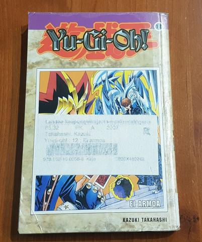 Lasten kierrätyskirja (Kazuki Takahashi - Yu-gioh!: 12:Ei armoa)