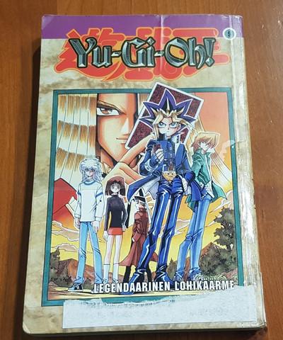 Lasten kierrätyskirja (Kazuki Takahashi - Yu-gioh!: 9: Legendaarinen lohikäärme)