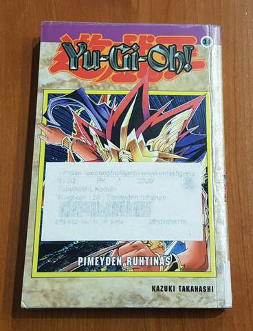 Lasten kierrätyskirja (Kazuki Takahashi - Yu-gioh!: 34: Pimeyden ruhtinas)