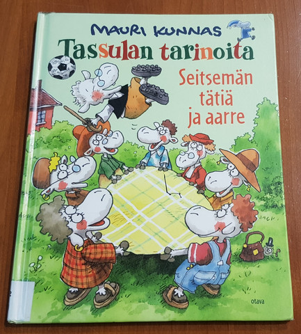 Lasten kierrätyskirja (Mauri Kunnas - Tassulan tarinoita - Seitsämän tätiä ja aarre)