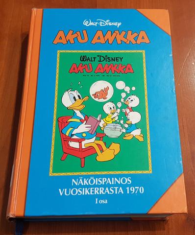 Lasten kierrätyskirja (Aku Ankka - Näköispainos vuosikerrasta 1970)