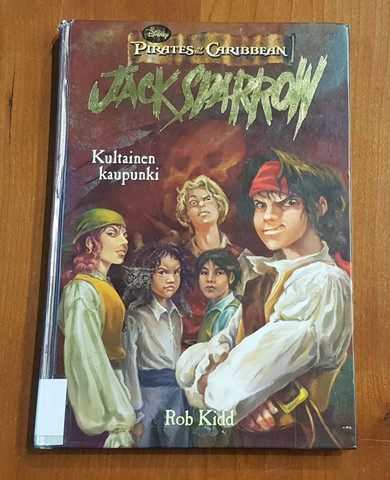 Lasten kierrätyskirja (Pirates of the Caribbean - Jack Sparrow Kultainen kaupunki)