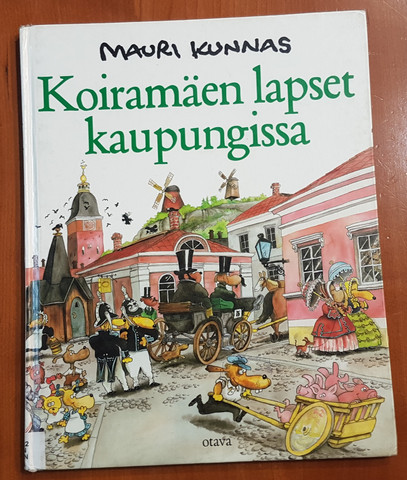 Lasten kierrätyskirja (Mauri Kunnas - Koiramäen lapset kaupungissa)