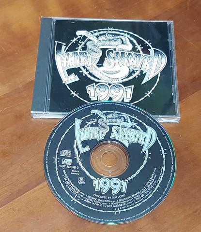 CD-levy (Lynyrd Skynyrd - 1991)