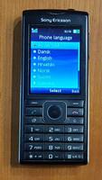 Puhelin (Sony Ericsson Cedar j108i)