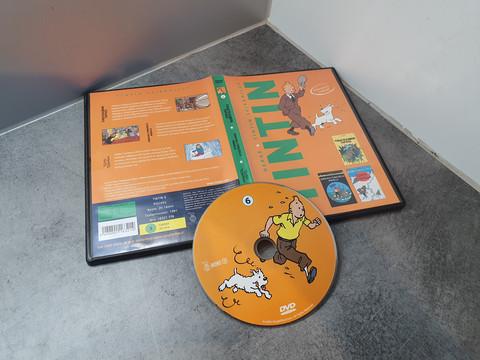 Lasten DVD -elokuva (Tintin 6) K-3