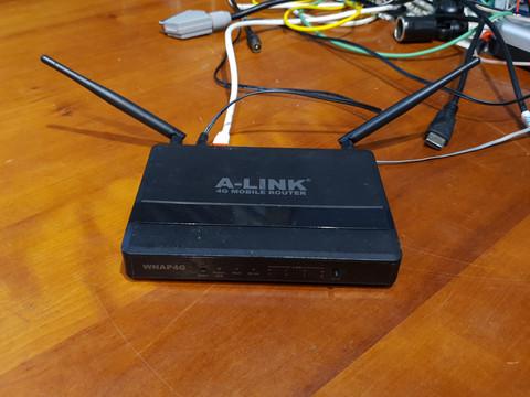 Wifi -reititin (A-Link WNAP4G)