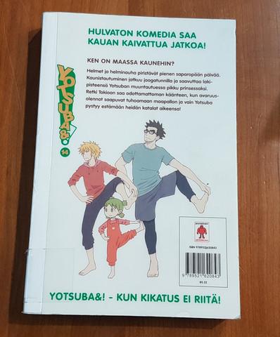 Lasten kierrätyskirja (Kiyohiko Azuma - Yotsuba&! - 14 - Ken on maassa kaunehin?)