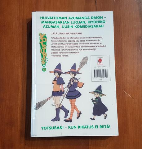 Lasten kierrätyskirja (Kiyohiko Azuma - Yotsuba&! - 12 - Jätä jälki maailmaan!)