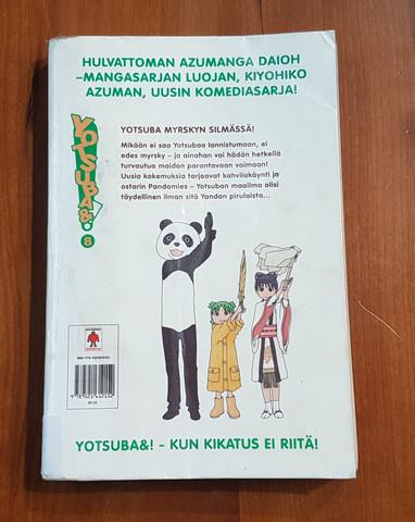 Lasten kierrätyskirja (Kiyohiko Azuma - Yotsuba&! - 8 - Yotsuba myrskyn silmässä!)