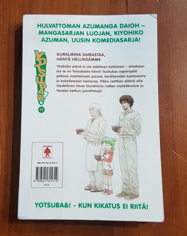 Lasten kierrätyskirja (Kiyohiko Azuma - Yotsuba&! - 11 - Duralmina sairastaa, häntä hellikäämme)