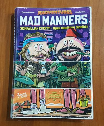 Kierrätyskirja (Tuomas Milonoff, Riku Rantala - Mad Manners)