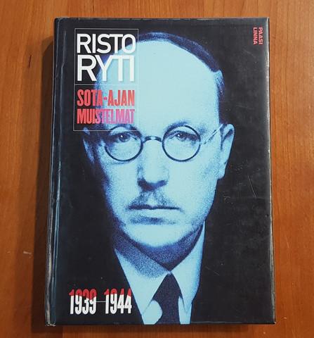 Kierrätyskirja (Risto Ryti - Sota-ajan muistelmat 1939 - 1944)
