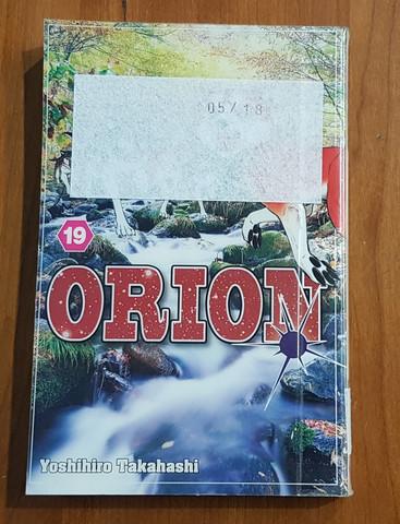 Lasten kierrätyskirja (Yoshiro Takahashi - Orion 19 - Vihollisen jäljillä)