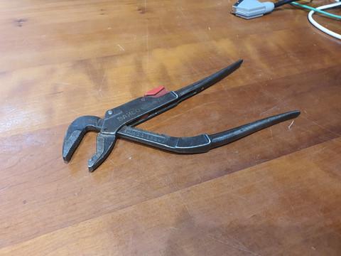 Työkalu - siirtoleukapihdit 250 mm (Bahco 8224 Ergo)