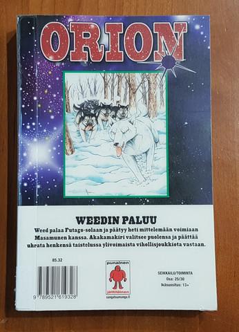Lasten kierrätyskirja (Yoshiro Takahashi - Orion 25 - Weedin paluu)