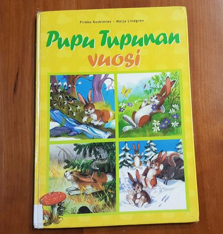 Lasten kierrätyskirja (Pirkko Koskimies, Maija Lindgren - Pupu Tupunan vuosi)