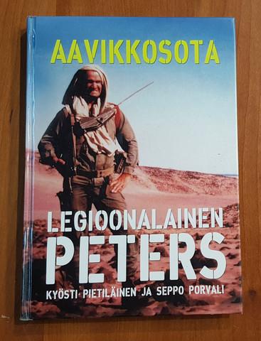 Kierrätyskirja (Kyösti Pietiläinen ja Seppo Porvali - Legioonalainen Peters Aavikkosota)