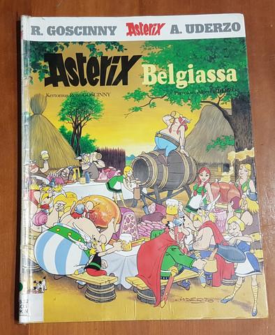 Lasten kierrätyskirja (R. Goscinny, A. Uderzo - Asterix Belgiassa)