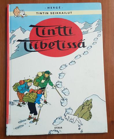 Lasten kierrätyskirja (Herge - Tintti Tiibetissä)