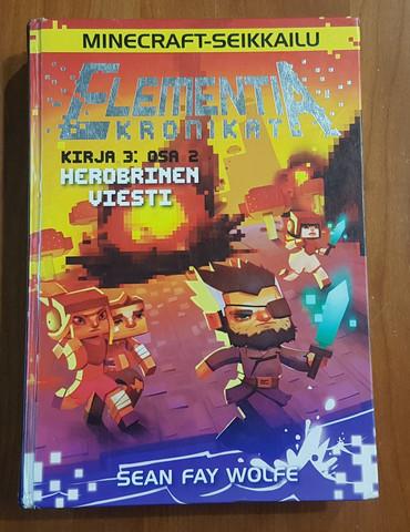 Lasten kierrätyskirja (Sean Wolfe - Minecraft seikkailu - Elementia kronikat: Kirja 3, osa 2: Herobri)