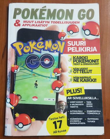 Lasten kierrätyskirja (Pokemon Go & muut lisätyn todellisuuden applikaatiot)