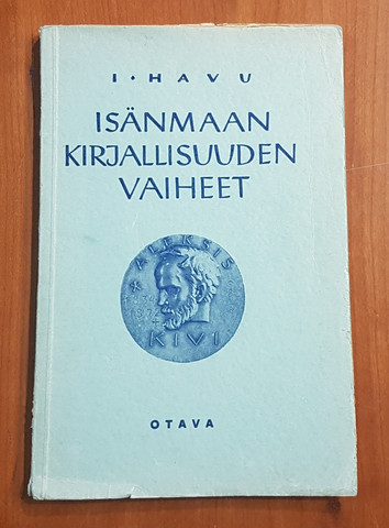 Kirja (I. Havu - Isänmaan kirjallisuuden vaiheet)