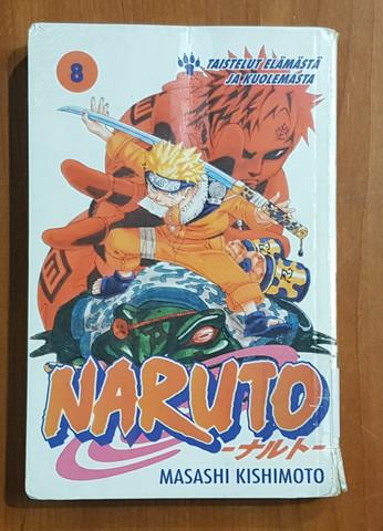 Lasten kierrätyskirja (Masashi Kishimoto - Naruto 8)