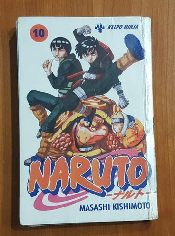 Lasten kierrätyskirja (Masashi Kishimoto - Naruto 10)
