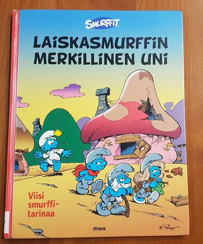 Lasten kierrätyskirja (Smurffit - Laiskasmurffin merkillinen uni)