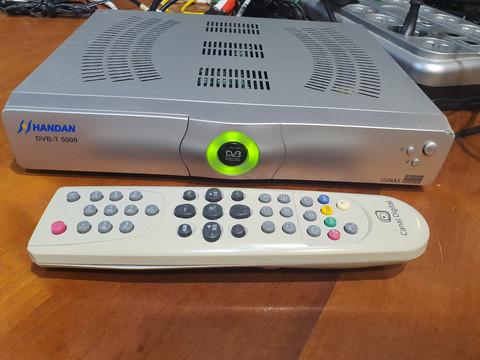 Antenniverkon digiboksi (Handan DVB-T 5000)