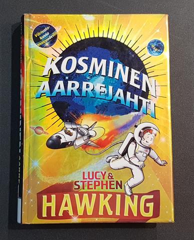 Lasten kierrätyskirja (Lucy Hawking - Kosminen aarrejahti)
