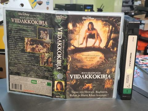VHS-elokuva (Walt Disney esittää: Viidakkokirja)
