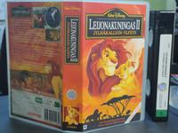 VHS-elokuva (Walt Disney esittää: Leijonakuningas II)