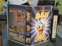 VHS-elokuva (Disney - Onneksi olkoon Aku, 60 v. juhlavideo)