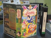 VHS-elokuva (Walt Disney klassikot: Lumikki ja seitsämän kääpiötä)