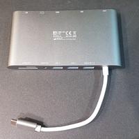USB-C-telakointiasema (Deltaco USBC-1275)