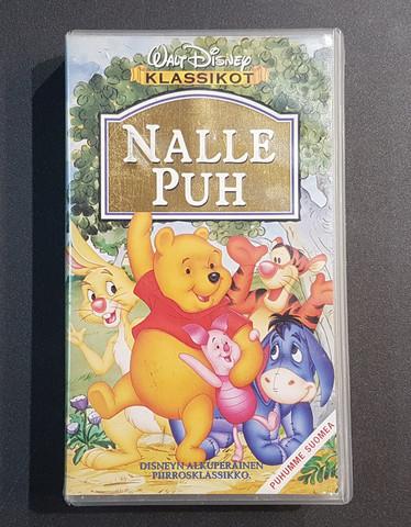 VHS-elokuva (Walt Disney klassikot: Nalle Puh)